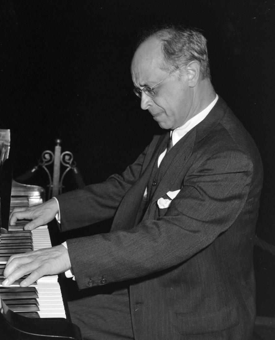 Světoznýmý klavírista Rudolf SERKIN