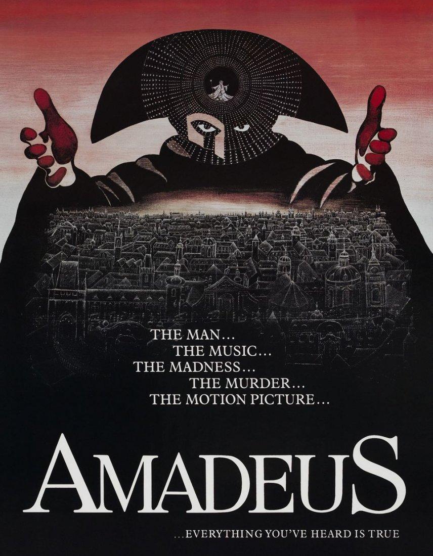 Plakát filmu Amadeus