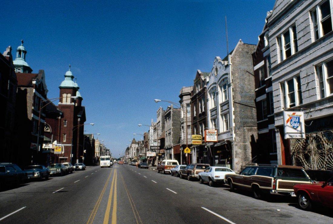Cermak Road Chicago, ulice vedoucí ke kancelářím C