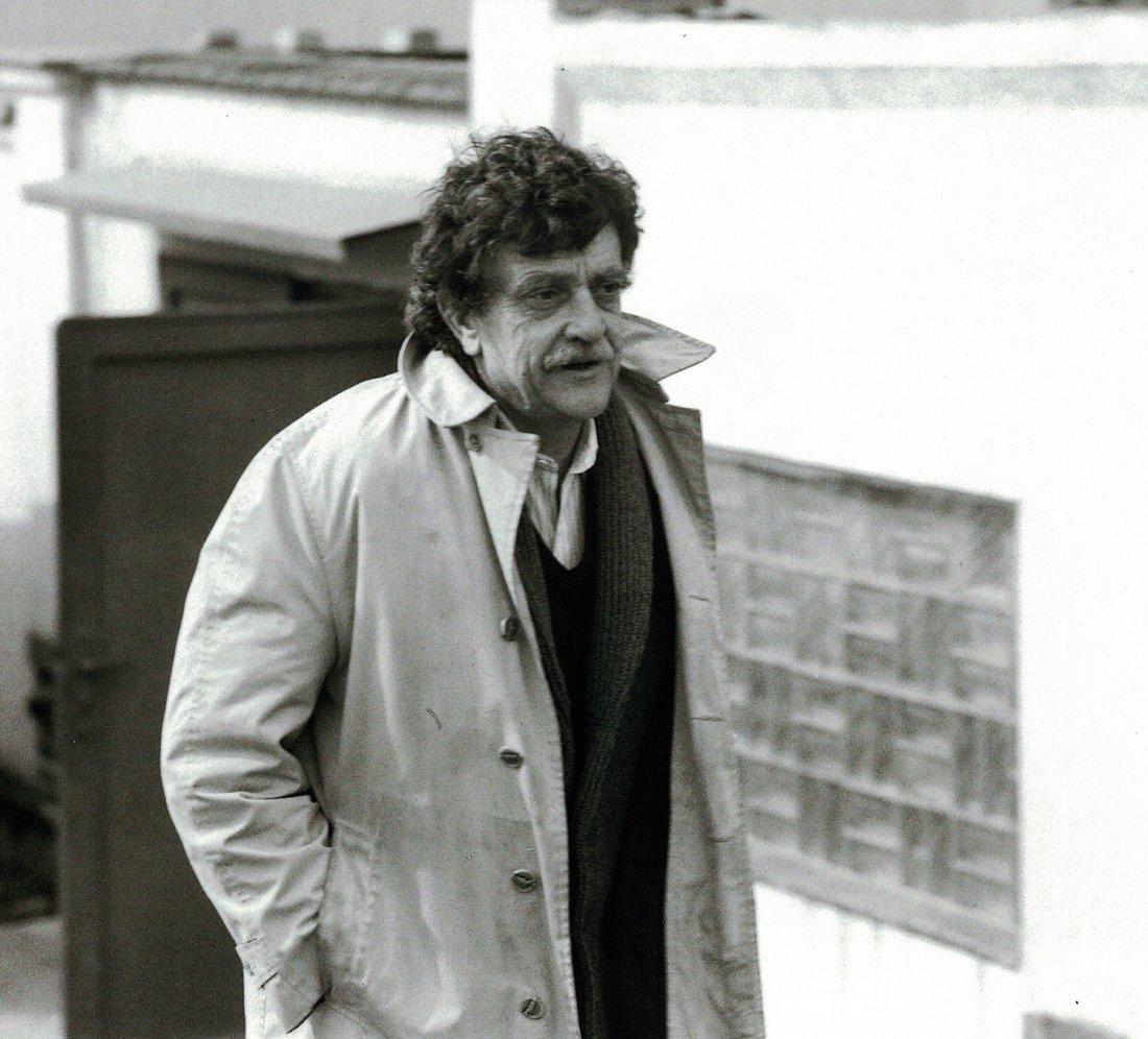 Kurt Vonnegut v Praze