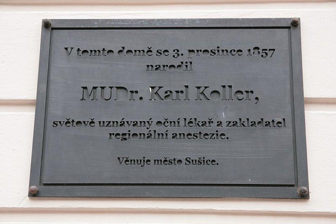 Pamětní deska Karla Kollera