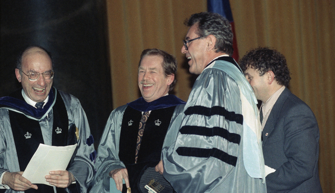 02211990_Havel_v_USA_Kolumbijska_universita_Forman