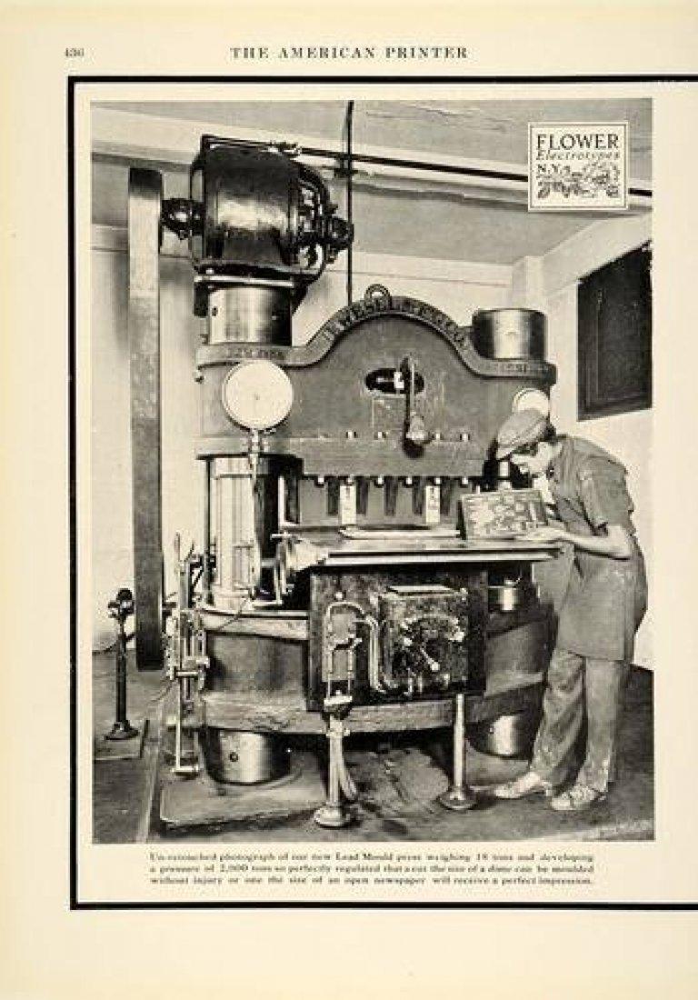 Tiskárna z přelomu 19. a 20. století