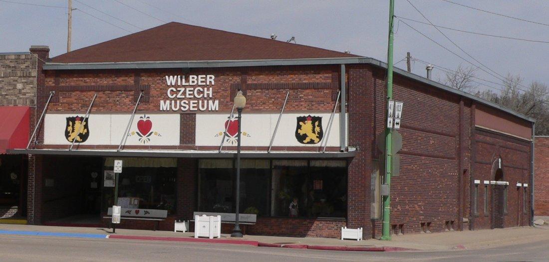 České museum v nebraském městečku Wilber