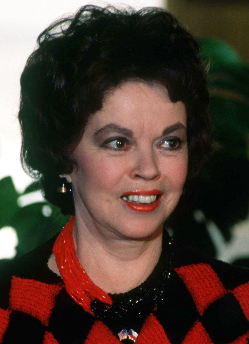 Bývalá herečka Shirley Temple Black se později sta