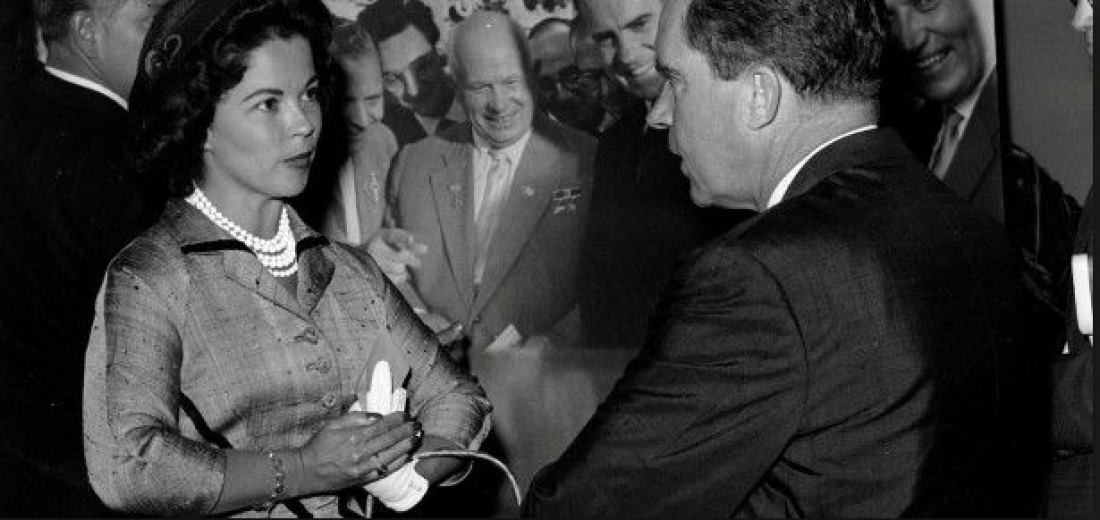Shirley Temple Black a prezident Nixon