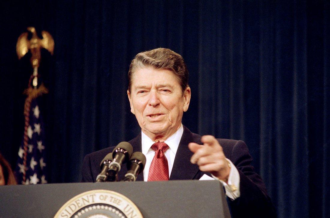 Prezident Ronald Reagan