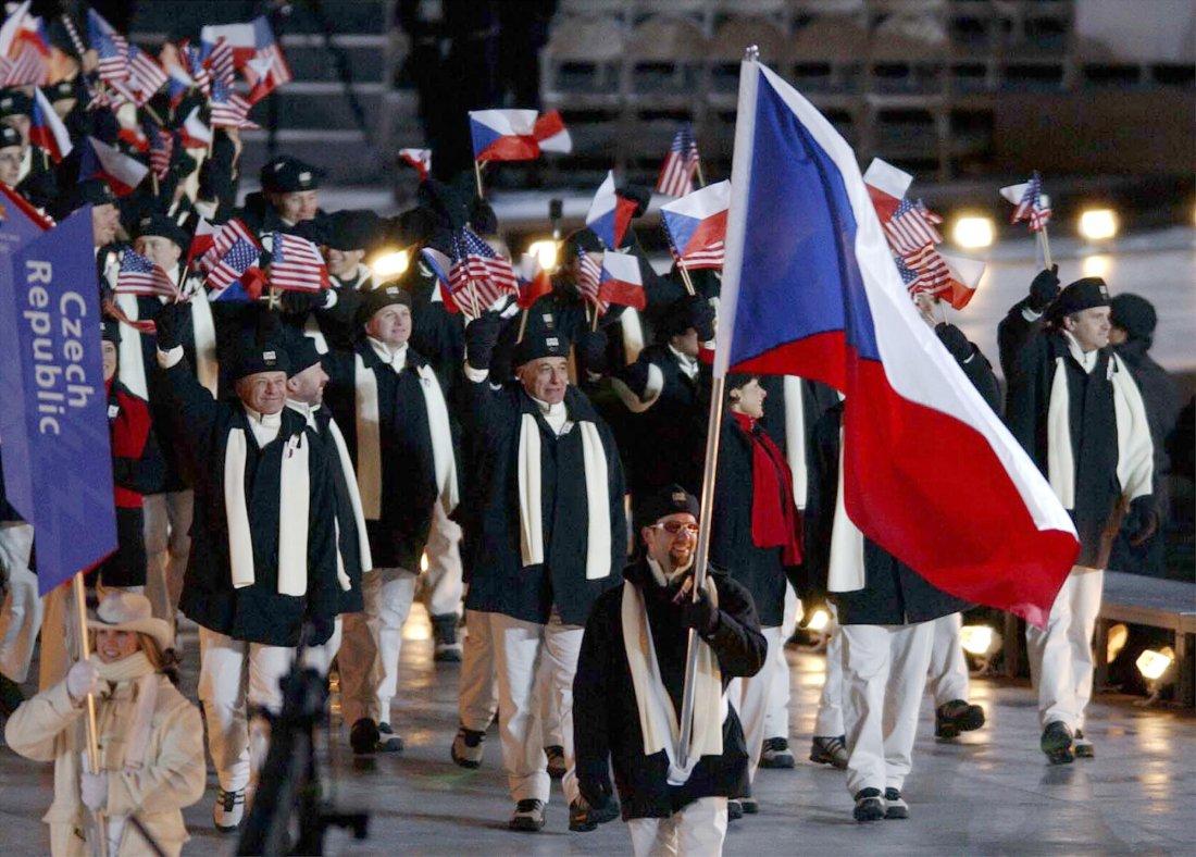 Zahajovací ceremoniál Česká olympijská výprava