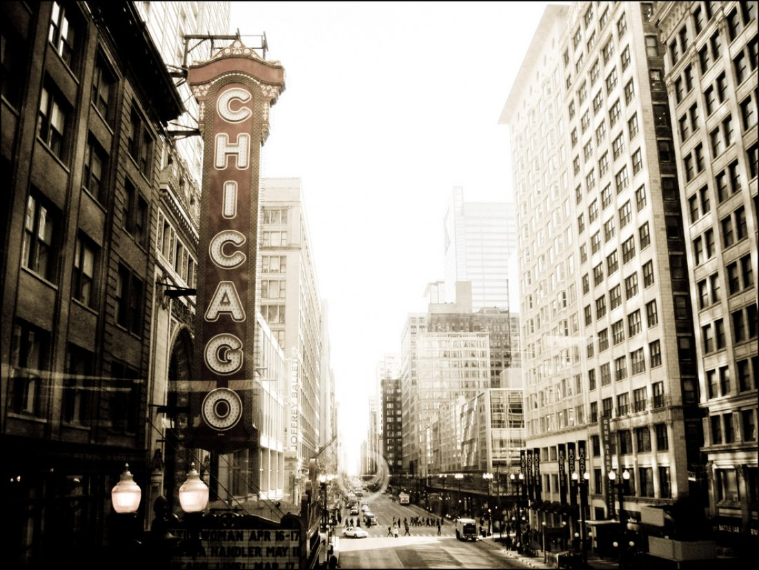 Chicago za života Augusta Geringera.