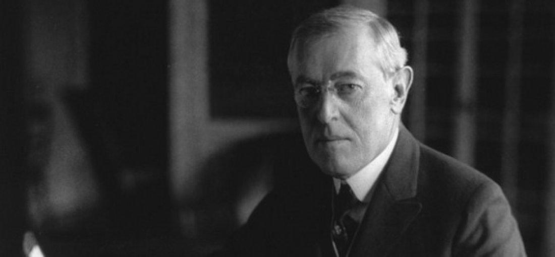 Prezident W. Wilson, rok 1918