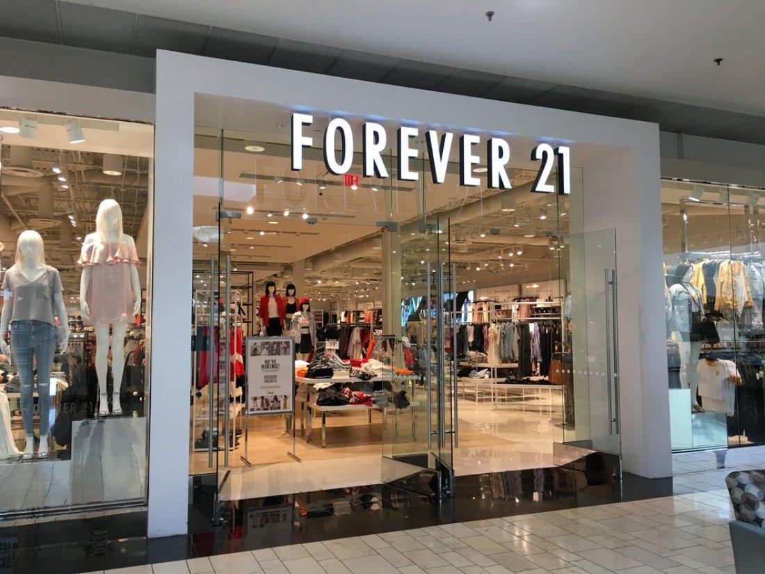 Prodejna Forever 21 v Centru Černý Most v Praze