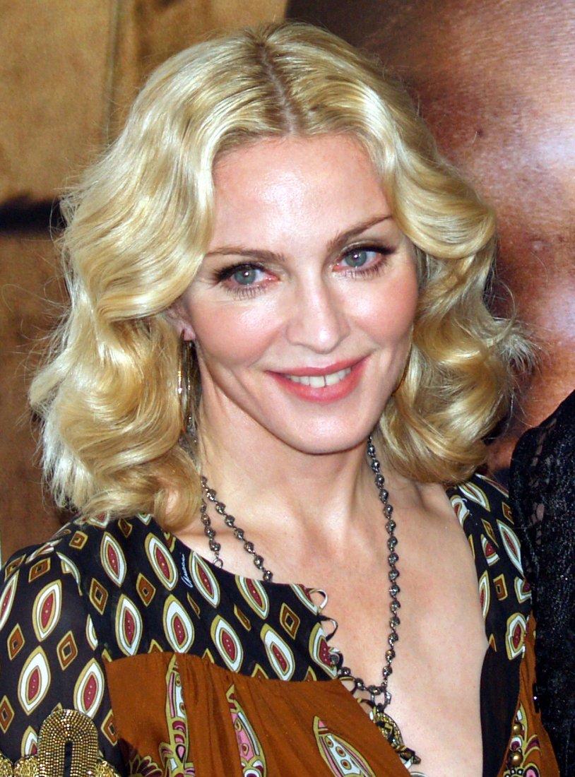 Královna popu: Madonna.