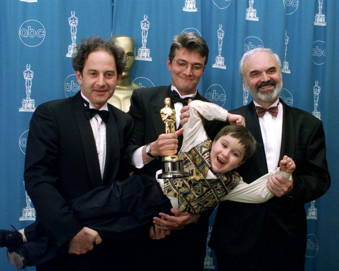 Zdeněk Svěrák, Jan Svěrák, Andrej Schalmon a Eric