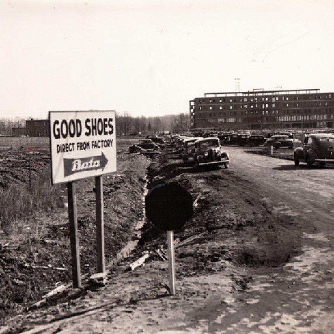 Baťa otevírá továrnu ve státě Maryland, 1.1. 1940