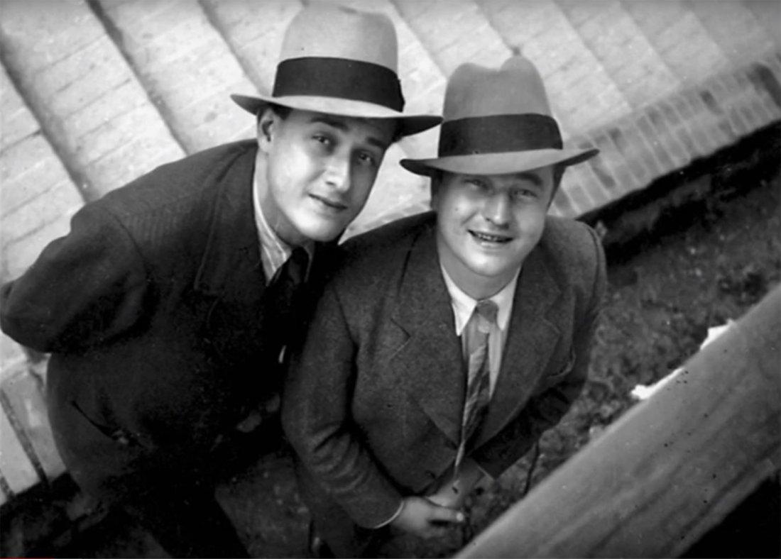 Jan Werich a Jiří Voskovec měli v době druhé světo