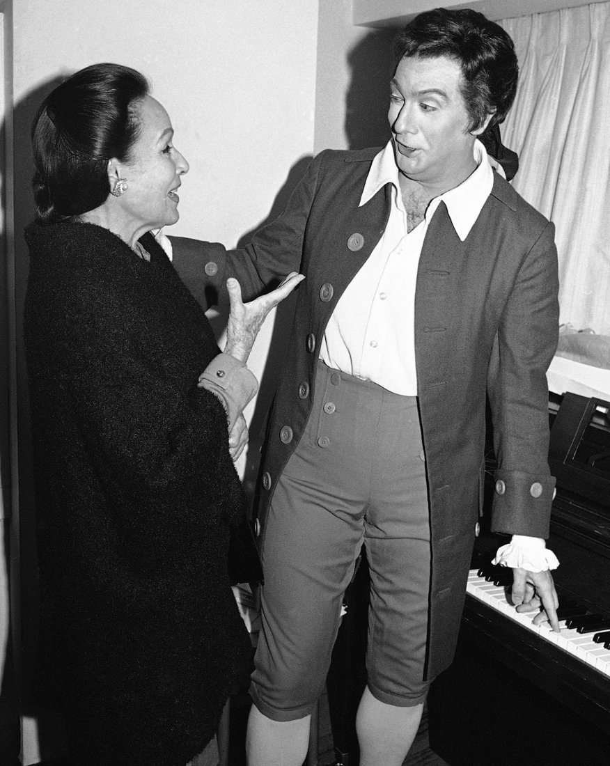 Herečka Dolores Del Rio a tenorista Domingo Placid