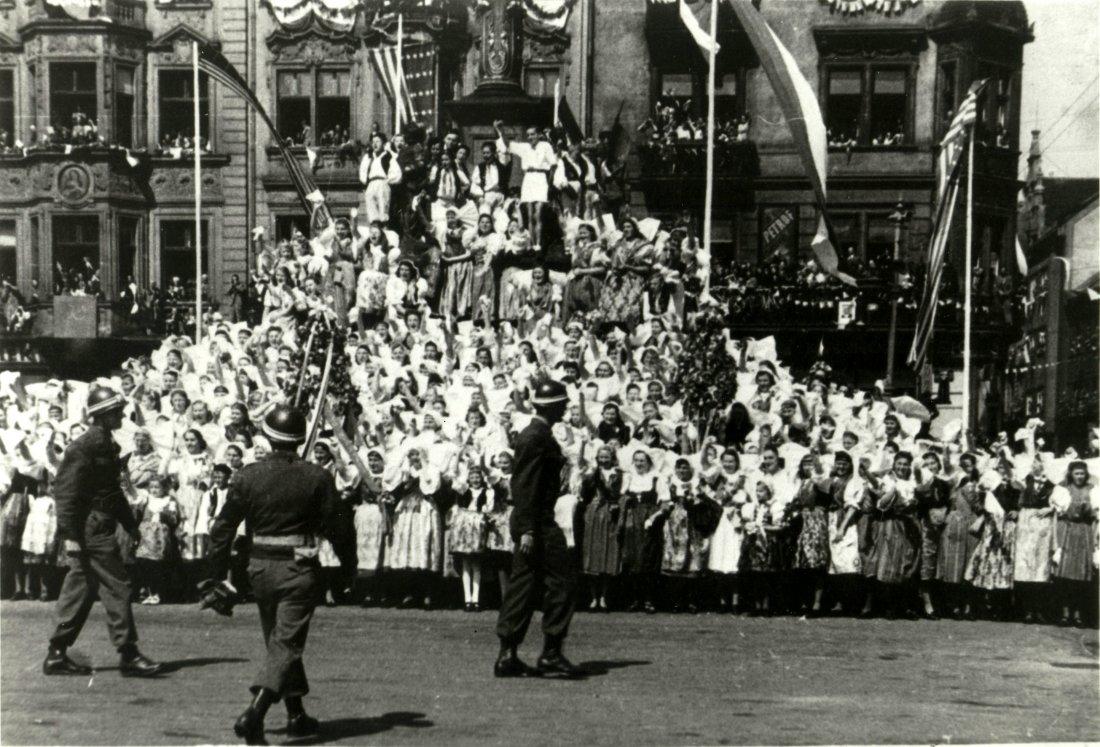 05121945_Osvoboezeni_Rokycany-Liberation