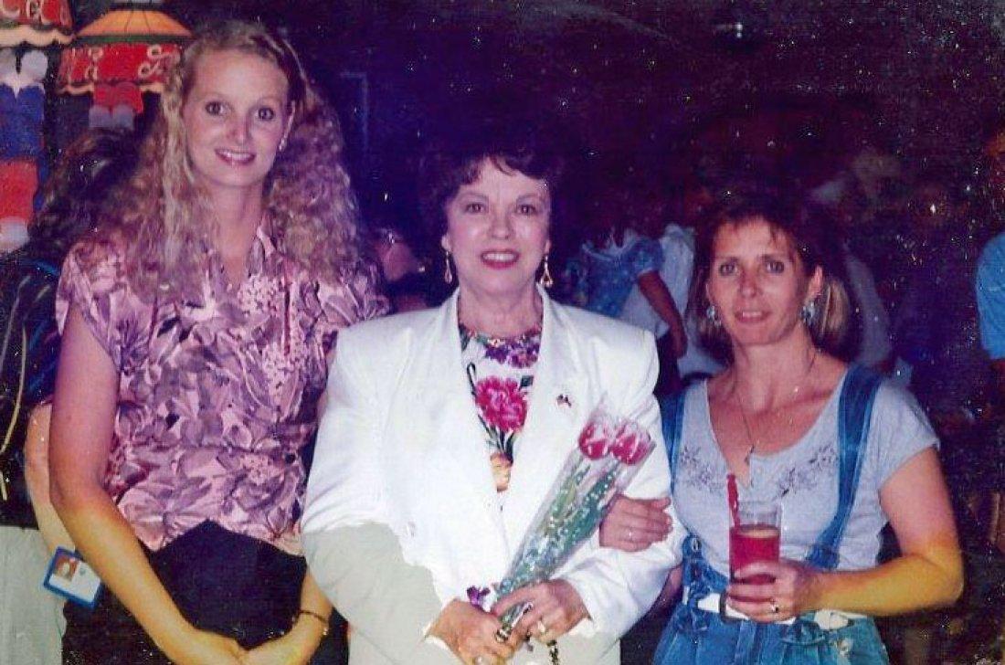 Shirley Temple Black na recepci ve své pražské res